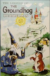 Legend of the Groundhog Weatherman Book