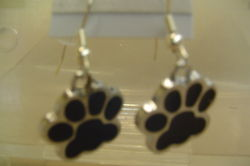 Paw Charm Earrings
