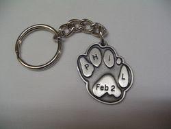 Phil Paw Keychain