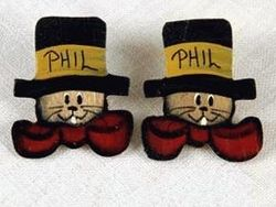 Phil Top Hat Earrings