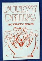 Punxsutawney Phil Activity Book
