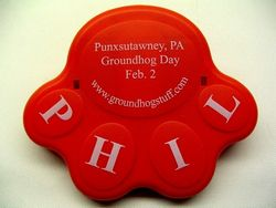 Punxsutawney Phil Chip Clip