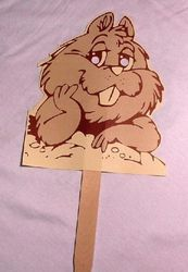 Punxsutawney Phil Mask (shipped unassembled)