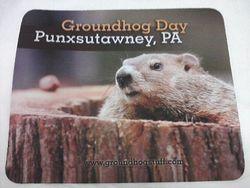 Punxsutawney Phil Mousepad