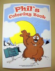Punxsutawney Phil's Coloring Book