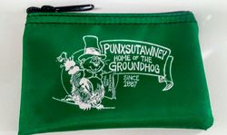 Punxsutawney Phil Zipper Coin Purse-Pink