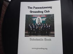 Scholastic Groundhog Book