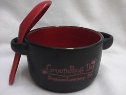 Soup-n-Spoon Groundhog Day Mug