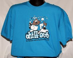 Adult Chill Out T-shirt 2x, 3x