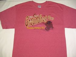 Adult Groundhog Vintage T-Shirt