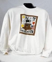Adult Picture Frame Sweatshirt