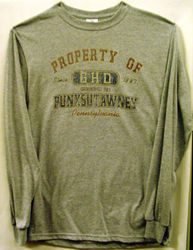 Adult Property of GHD Long-Sleeved T-Shirt-Gray