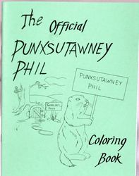 The Official Punxsutawney Phil Coloring Book