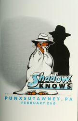 The Shadow Knows Poster