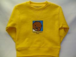 Toddler College Kids Baby Phil Sweatshirt - Yellow
