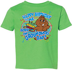 Toddler I Was Born on GHD T-Shirt