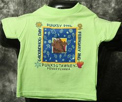 Toddler Square Phil T-Shirt-Bright Green