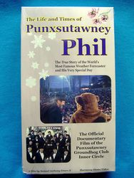 VHS Life and Times of Punxsutawney Phil