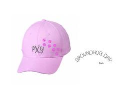 Women's PXY Paw Print Hat (pink)
