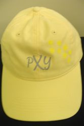 Women's PXY Paw Print Hat (yellow)