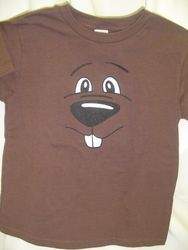 Youth Groundhog Face T-Shirt