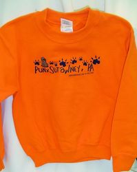 Youth Groundhog  Paw Sweatshirt