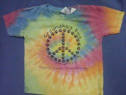 Youth Tie Dyed Ghog Paw T-Shirt