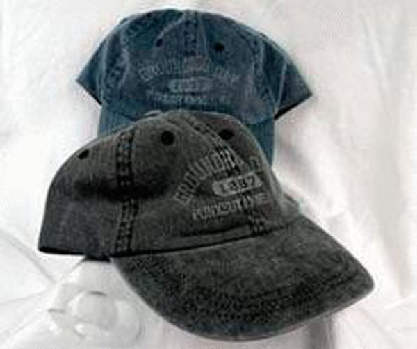 1887 Groundhog Day Cap Sku#625 -charcoal Sku#626- storm blue