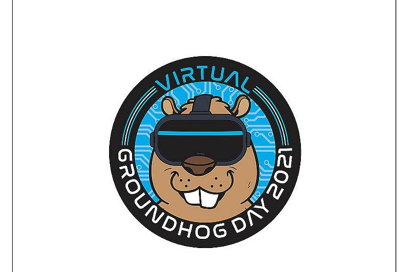 2021 Virtual Ghog Day Button/PIn sku#2309