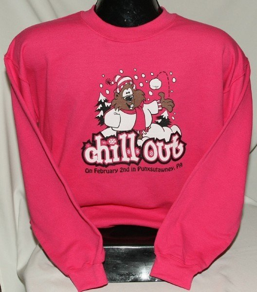 Adult Chill Out Sweatshirt Sku#681-small Sku#682-medium Sku#683-large Sku#684-xlarge