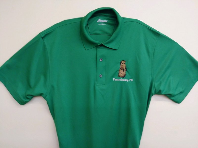 Adult Embroidered Golf Shirt sku#1890-small sku#1891-medium sku#1892-large sku#1893