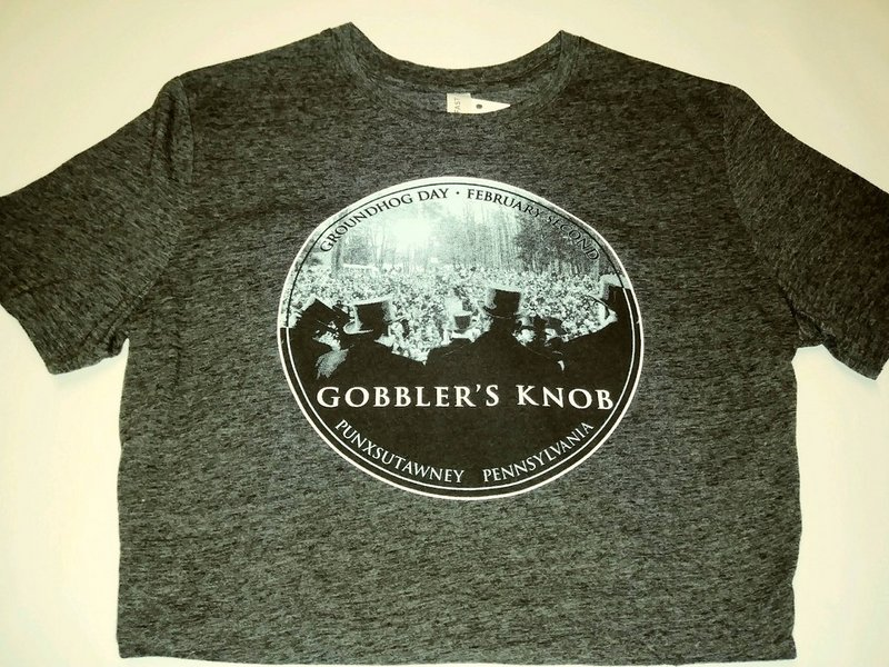 Adult Gobbler's Knob Crowd Tshirt smaill-sku#1917 medium-sku#1918 large-sku#1919 xlarge-sku#1920