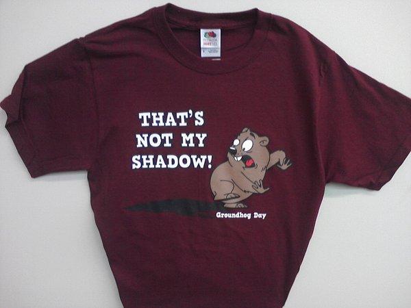 Adult Not My Shadow T-Shirt 2X,3X Sku#1158-2X Sku#1159-3X