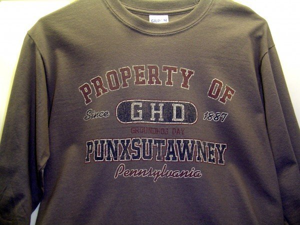 Adult Property of GHD Long-Sleeved T-Shirt-Gray 2x, 3x Sku#642-2X Sku#643-3X