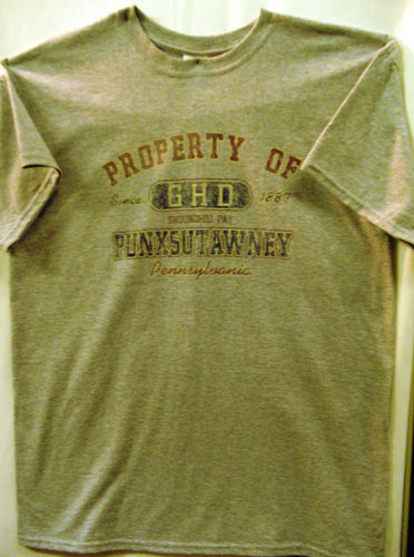 Adult Property of GHD T-Shirt-Gray