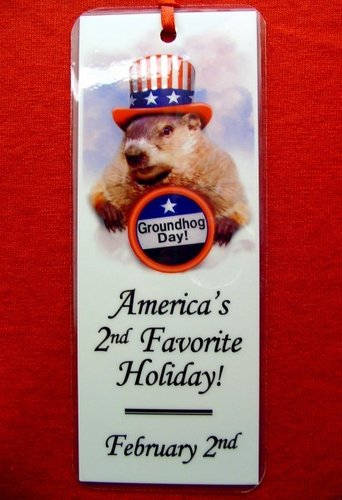 Bookmark - Punxsutawney Phil/Uncle Sam Sku# 249