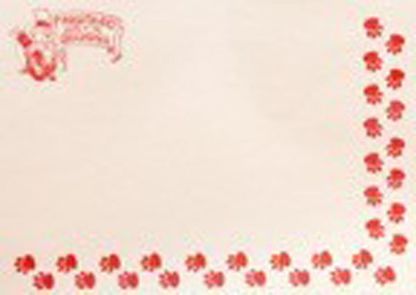Disposable Groundhog Day Placemats-10 per pk Sku # 392