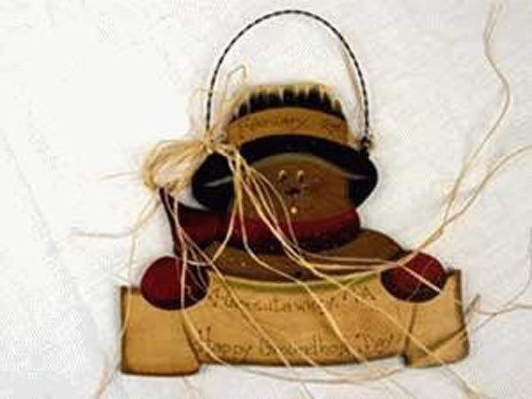 February 2 Happy Groundhog Day Wood Sign Sku# 155