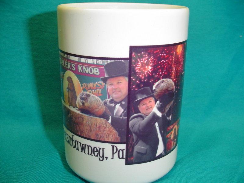 Ghog Day Firework Mug Sku#1512