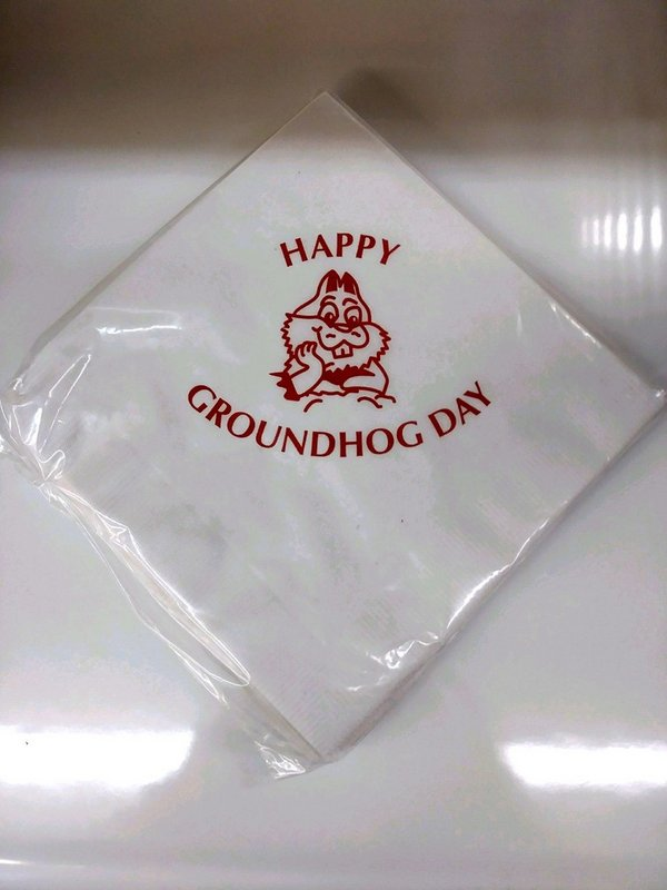 Ghog Day Napkins