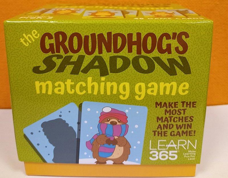 Ghog Shadow Matching Game sku#2333