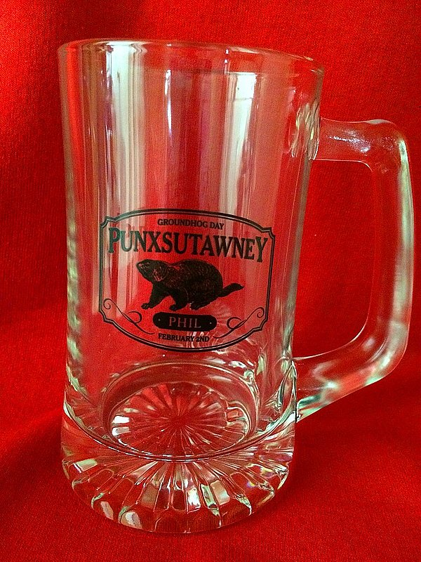 Groundhog Beer Mug Sku#1753