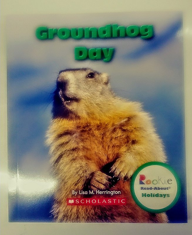 Groundhog Day Book (about holidays) Sku#2077