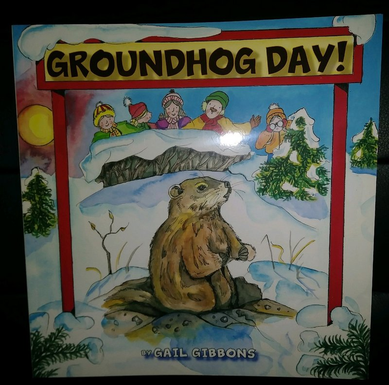 Groundhog Day Book(soft cover) Sku#1936