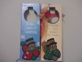 Groundhog Day Door Hanger Sku # 175