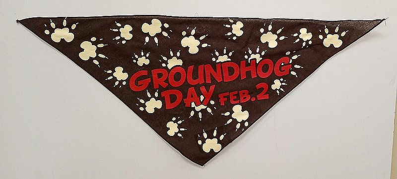 Groundhog Day Pet Bandana Sku# 409