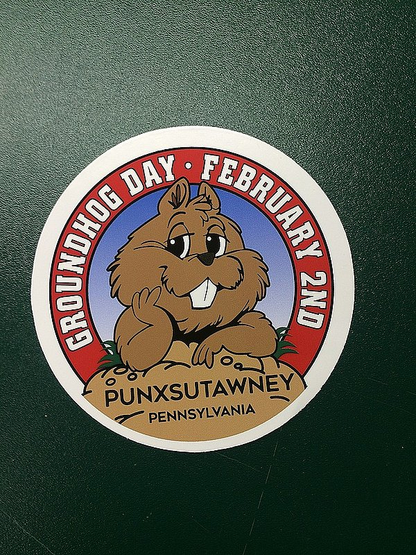 Groundhog Full Color Decal Sku#2078