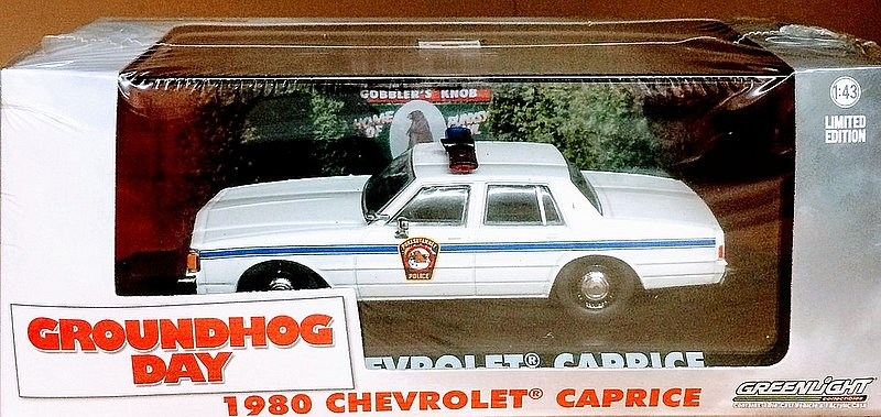 Groundhog Movie Police Car sku#2190