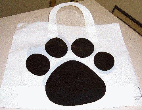 Groundhog Paw Gift Bag Sku# 344