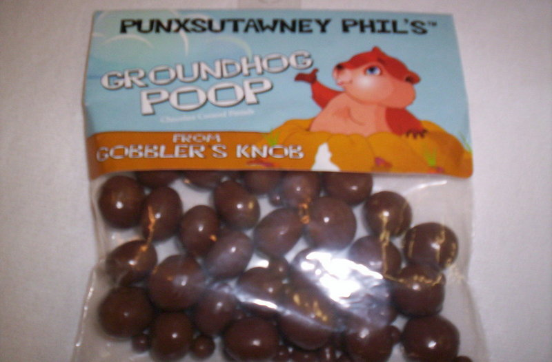 Groundhog Poop(choc covered pretzel balls) Sku# 1149